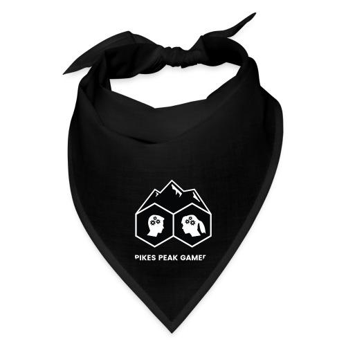Pikes Peak Gamers Logo (Solid Black) - Bandana