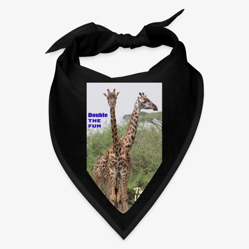 Two Headed Giraffe - Bandana