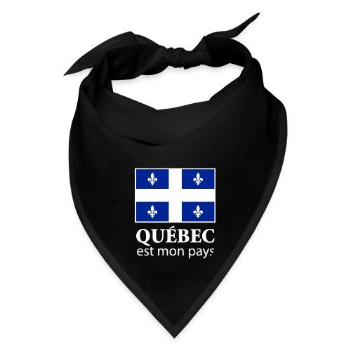 Québec est mon pays - Bandana