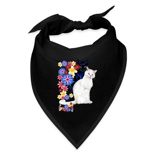 Black and White Garden Kitties.. - Bandana