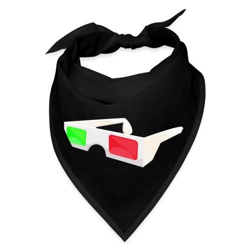 3D red green glasses - Bandana
