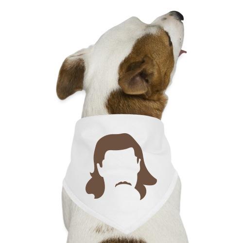 Keeping Karlsson Head Transparent brown - Dog Bandana