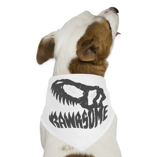 RAWRsome T Rex Skull by Beanie Draws - Dog Bandana