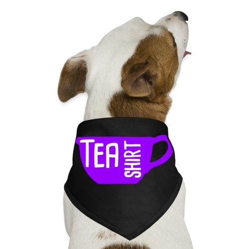 Tea Shirt Purple Power of Tea - Dog Bandana