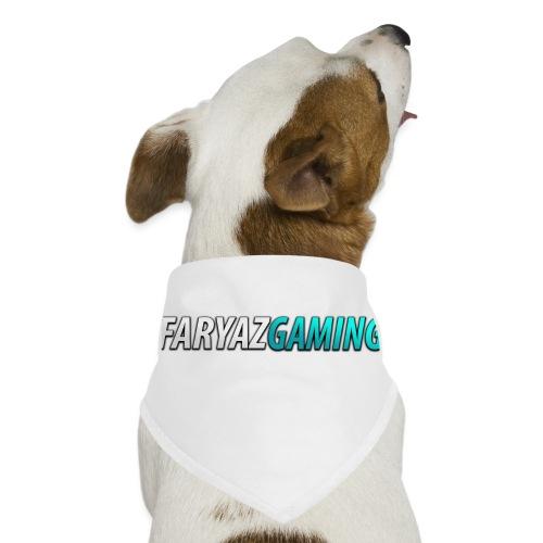 FaryazGaming Theme Text - Dog Bandana