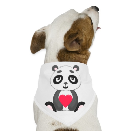 Sweetheart Panda - Dog Bandana