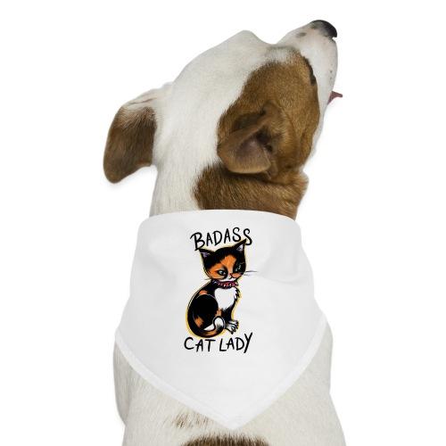 Badass cat lady - Dog Bandana