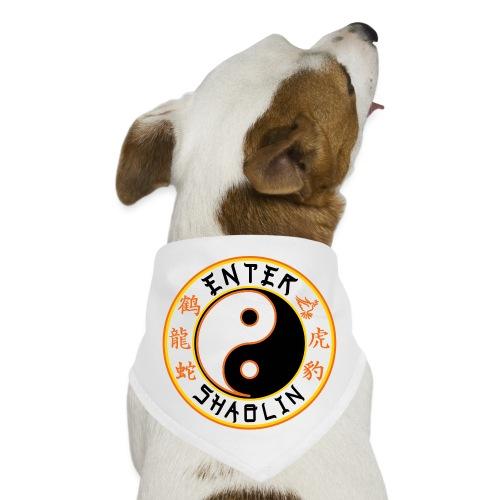 Enter Shaolin Main Logo | Black - Dog Bandana