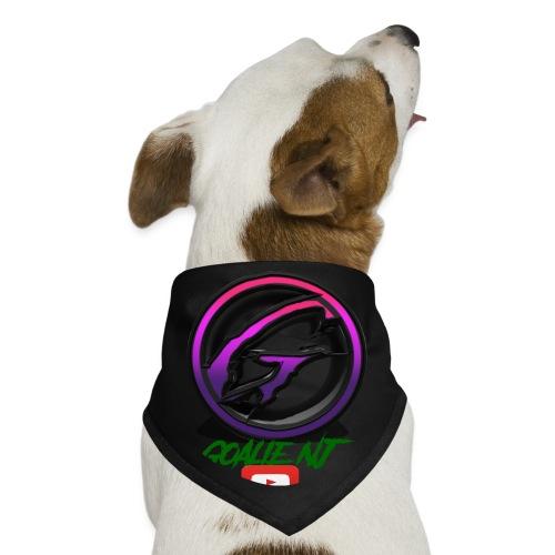 goalie nj logo - Dog Bandana