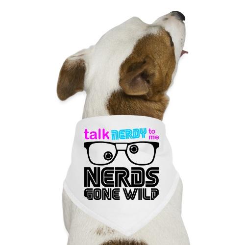 Talk NERDY To Me (Color) - Dog Bandana
