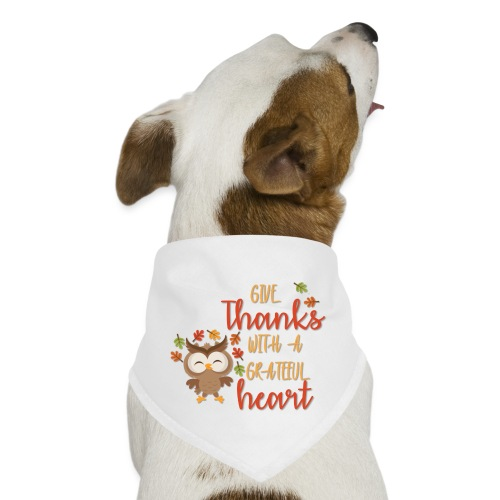 Give Thanks - Dog Bandana