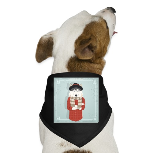 Hispter Dog - Dog Bandana