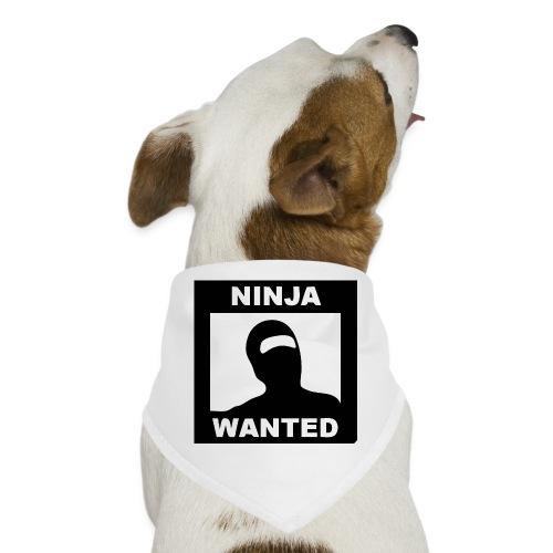 Ninja Wanted - Dog Bandana