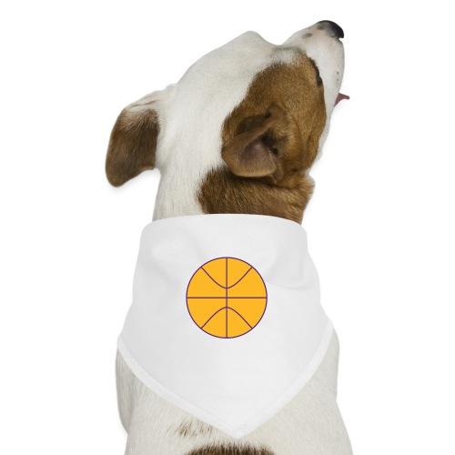 Basketball purple and gold - Dog Bandana