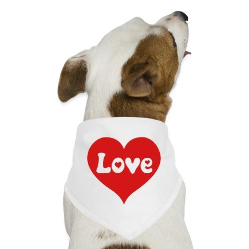Love Heart - Dog Bandana