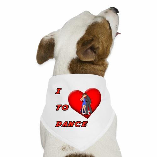 I Heart Dance - Dog Bandana