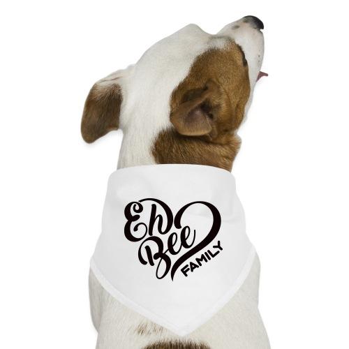EhBeeBlackLRG - Dog Bandana