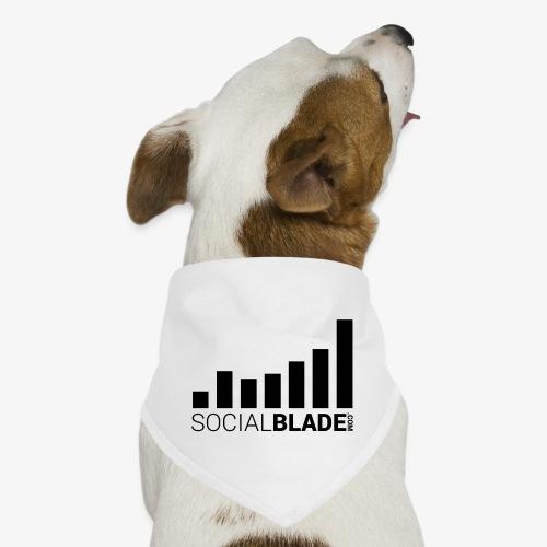 Socialblade (Dark) - Dog Bandana