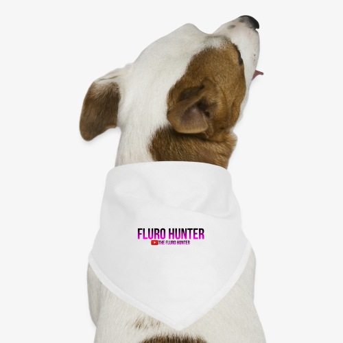The Fluro Hunter Black And Purple Gradient - Dog Bandana