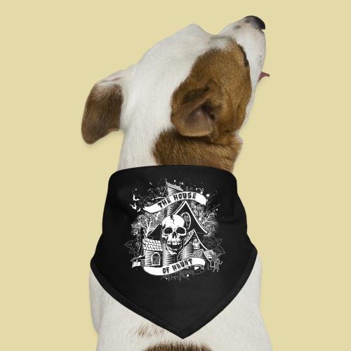 hoh_tshirt_skullhouse - Dog Bandana