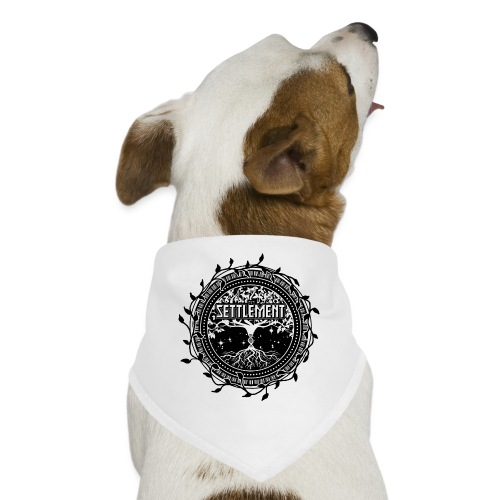 Band Seal (Black) | The Settlement - Dog Bandana