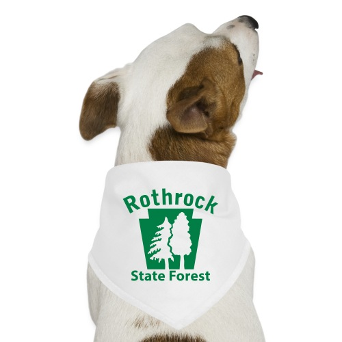 Rothrock State Forest Keystone (w/trees) - Dog Bandana