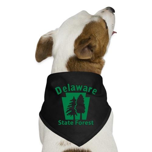 Delaware State Forest Keystone (w/trees) - Dog Bandana