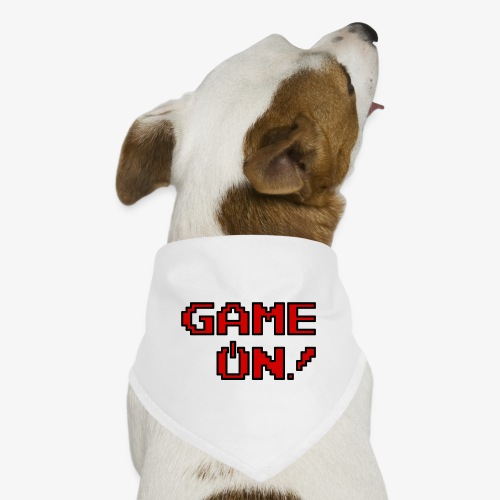 Game On.png - Dog Bandana