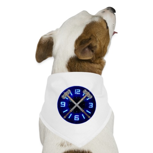 Hammer Time T-Shirt- Steel Blue - Dog Bandana