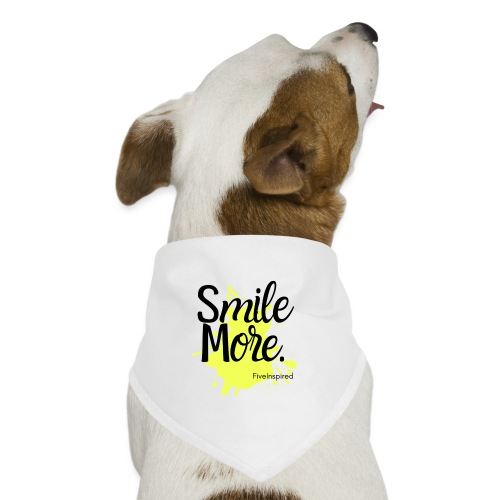 Smile More - Dog Bandana