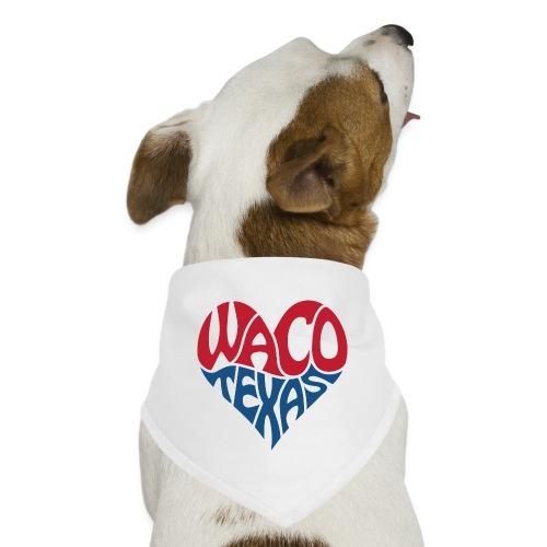 Heart of Waco Texas - Dog Bandana