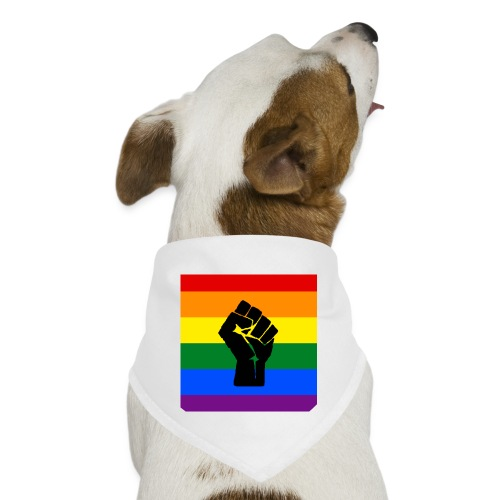 BLM Pride Rainbow Black Lives Matter - Dog Bandana