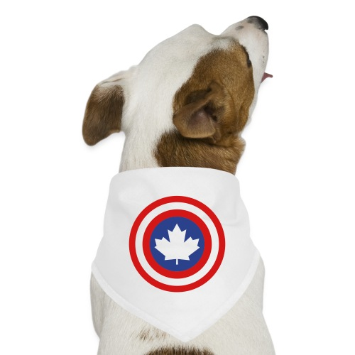 Captain Canada Shield 2 Colour - Dog Bandana