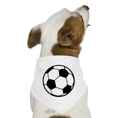 Custom soccerball 2 color - Dog Bandana
