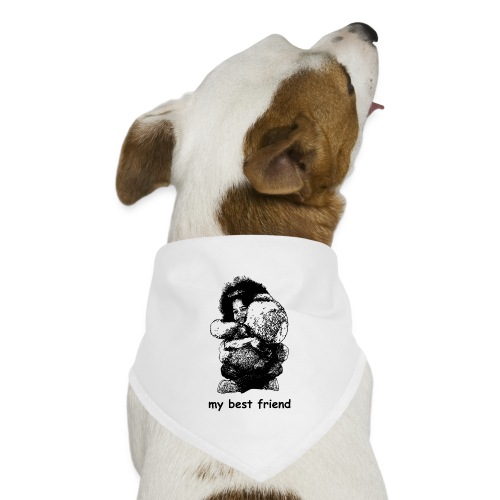 My best friend (girl) - Dog Bandana