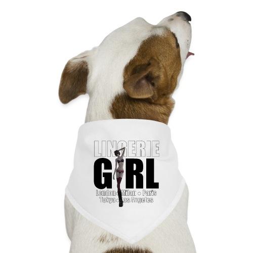 The Fashionable Woman - Lingerie Girl - Dog Bandana