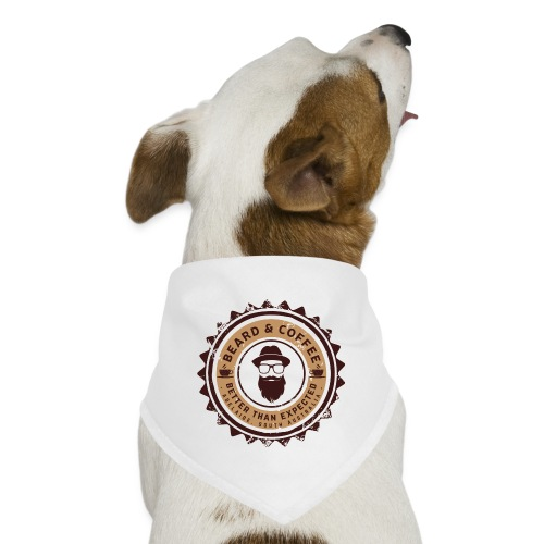 Beard and Coffee Merch - Dog Bandana