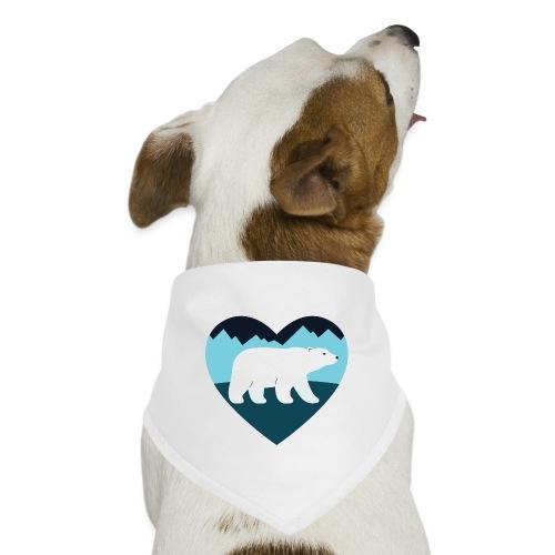 Polar Bear Love - Dog Bandana