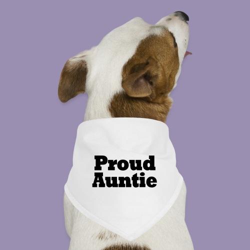Proud Auntie - Dog Bandana