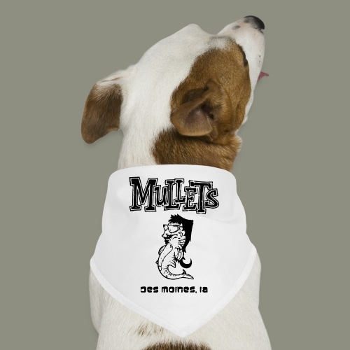 mulletmain black - Dog Bandana