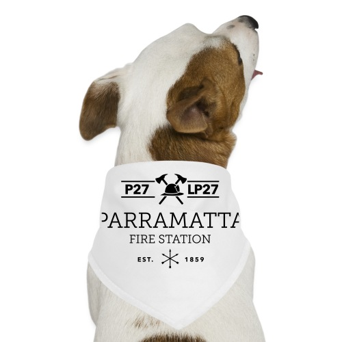 Parramatta Fire Station B - Dog Bandana