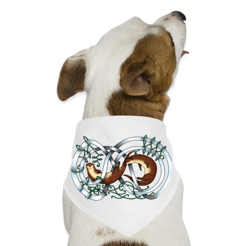 Otters entwined - Dog Bandana