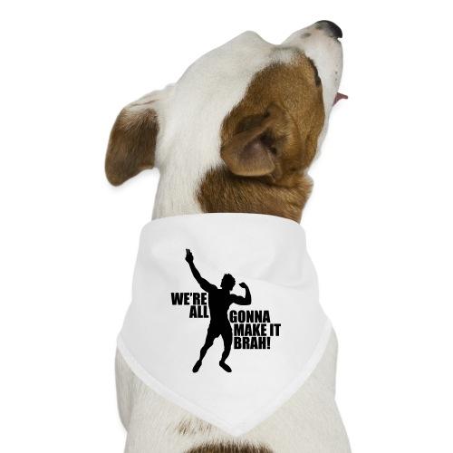 Zyzz Silhouette we're all gonna make it - Dog Bandana