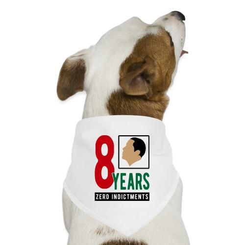 Obama Zero Indictments - Dog Bandana
