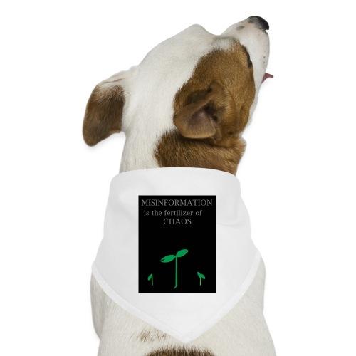 Misinformation - Dog Bandana