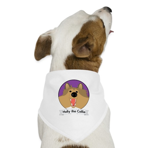 Holly the Collie banner - Dog Bandana
