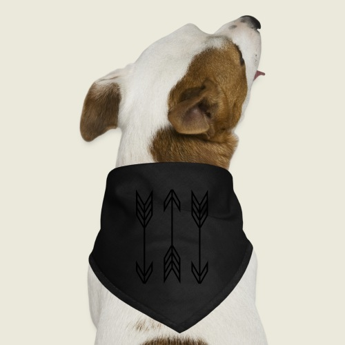 arrow symbols - Dog Bandana