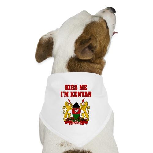 Kiss Me, I'm Kenyan - Dog Bandana