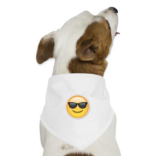 sunglasses emojicon mug & phone case - Dog Bandana