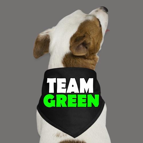 Greenish Team Green Big png - Dog Bandana